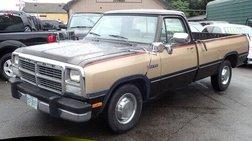 1991 Dodge RAM 250 LE