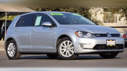 2015 Volkswagen e-Golf Limited Edition