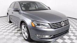 2013 Volkswagen Passat V6 SEL Premium
