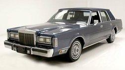 1987 Lincoln Town Car Base
