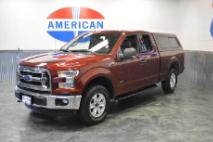 2016 Ford F-150 4WD! NAVIGATION! LOADED! PAINTED TO MATCH SHELL! 1 OWNER! EXTREMELY NICE 4WD!!!