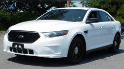 2017 Ford Taurus Police Interceptor