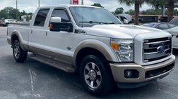 2013 Ford F-250 King Ranch Crew Cab 2WD