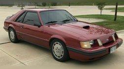 1984 Ford Mustang SVO Turbo