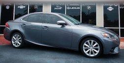 2015 Lexus IS 250 IS 250 Sedan 4D