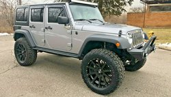 2017 Jeep Wrangler Unlimited Sport 14K MILES LIFTED