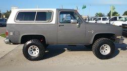 1986 Chevrolet Blazer 4WD