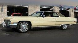 1972 Cadillac DeVille 39k Original Miles