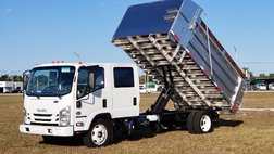 2021 Isuzu $994 per month* - 14' BABCO Aluminum Landscape Dump Truck