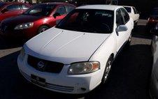 2005 Nissan Sentra White