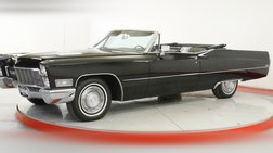1968 Cadillac DeVille CONVERTIBLE TRIPLE BLACK V8 AUTO COLLECTOR