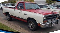1986 Dodge RAM 150 Base