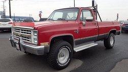 1986 Chevrolet C/K 10 Series K10 Silverado