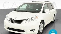 2016 Toyota Sienna XLE Premium Minivan 4D