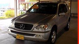 2003 Mercedes-Benz M-Class ML 320