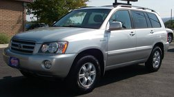 2002 Toyota Highlander Limited