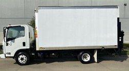 2012 Isuzu IBT PWL NPR Box Van Diesel 1600lb Tommy Lift G