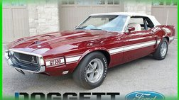 1969 Ford Mustang 1969 Shelby GT500 428 Cobra Jet