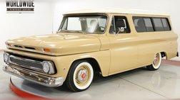 1966 Chevrolet Suburban RESTORED LS ENGINE AIR BAGS AC DISC DIGITAL