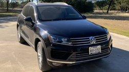 2016 Volkswagen Touareg V6 Sport