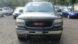2001 GMC Sierra 1500 Short Bed