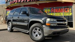 2002 Chevrolet Tahoe Tires Your Job Is Your Credit!