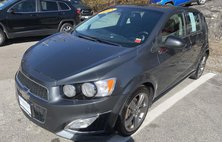 2013 Chevrolet Sonic RS Manual