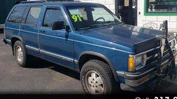 1991 Chevrolet S-10 Blazer Tahoe