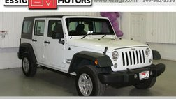 2016 Jeep Wrangler Unlimited Sport RHD
