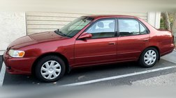 2002 Toyota Corolla CE