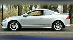 2006 Acura RSX Coupe 2.0L Automatic Leather Moon Sport Wheels