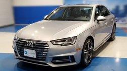 2018 Audi A4 2.0T quattro Premium Plus