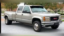 1999 GMC Sierra Classic 3500 Crew Cab Long Bed 4WD