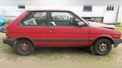 1989 Subaru Justy DL