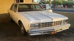 1977 Chevrolet Impala red
