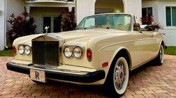 1983 Rolls-Royce Corniche