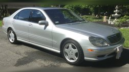 2001 Mercedes-Benz S-Class S 500