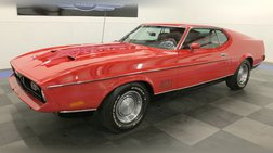 1972 Ford Mustang Mach 1, All Original, 1-Owner, 88k Miles, Full Records