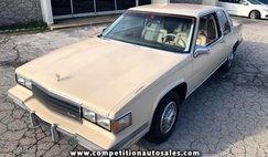 1986 Cadillac DeVille Base