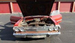 1963 Chevrolet Impala impala cloth/vinyl interior bench seat original