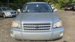 2002 Toyota Highlander Sport Utility 4D