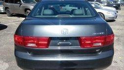2005 Honda Accord EX w/Leather