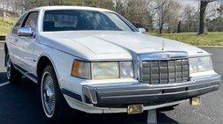 1988 Lincoln Mark VII Bill Blass