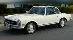 1971 Mercedes-Benz SL-Class Elegant First-Generation 280 SL Roadster Ready to