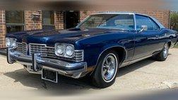 1973 Pontiac Bonneville - 2 Owner Low Mile