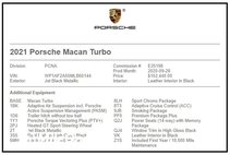 2021 Porsche Macan Turbo