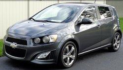 2013 Chevrolet Sonic RS Auto