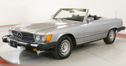 1977 Mercedes-Benz TWO TOPS BLACK LEATHER LOW MI PW PB PS AC