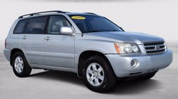 2003 Toyota Highlander Base
