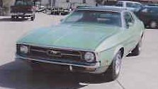 1971 Ford Mustang Bright Exterior Moldings